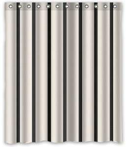 couleur rayures verticales rideau