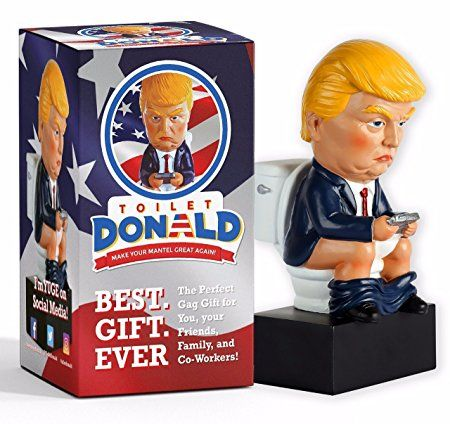 6d343653aa1af Amazon.com: NEW Toilet Donald Trump Doll Funny Realistic Gag Gift ...