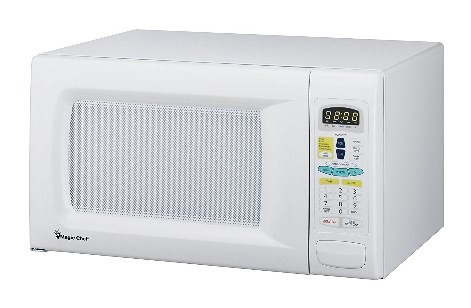 Evaluate Magic Chef 1 3cf 1100w White Microwave Mcd1311w Best