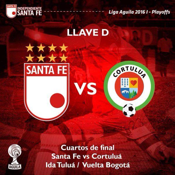 RT @SantaFe: ¡Buenos días Leones! Semana de finales, semana de buscar el pase a la semifinal de la Liga Aguila ¡#VamosSantaFe! https://t.co/HgFxJ2LTh7