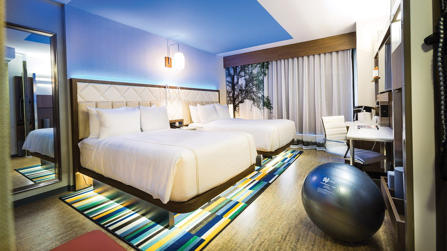 Hotels finding fitness areas get scant use: Travel Weekly
