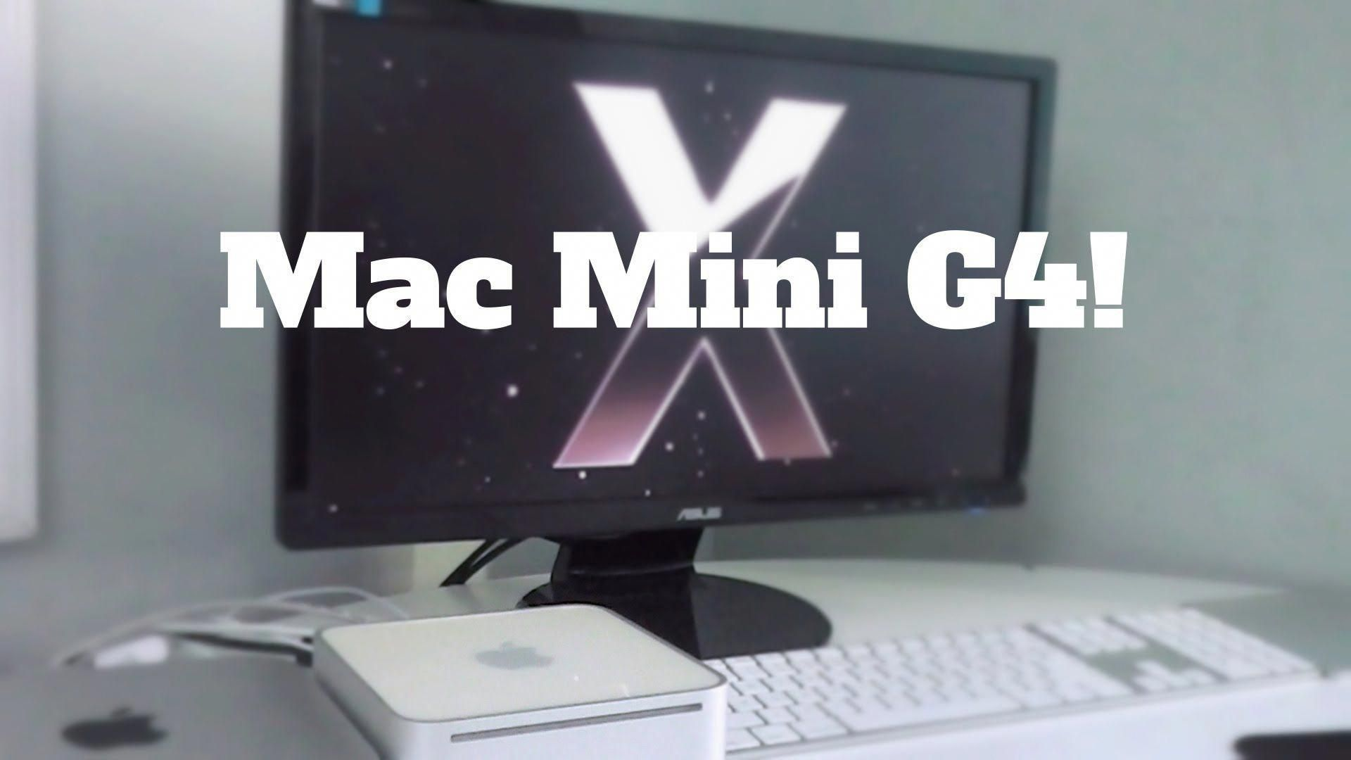 Mac Mini G4 Retro Unboxing 50 Mac Macmini Macminiworkstation Mac Mini Mac Mini