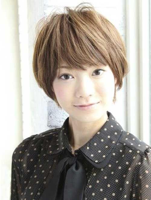 Cortes de cabello corto asiaticos mujeres