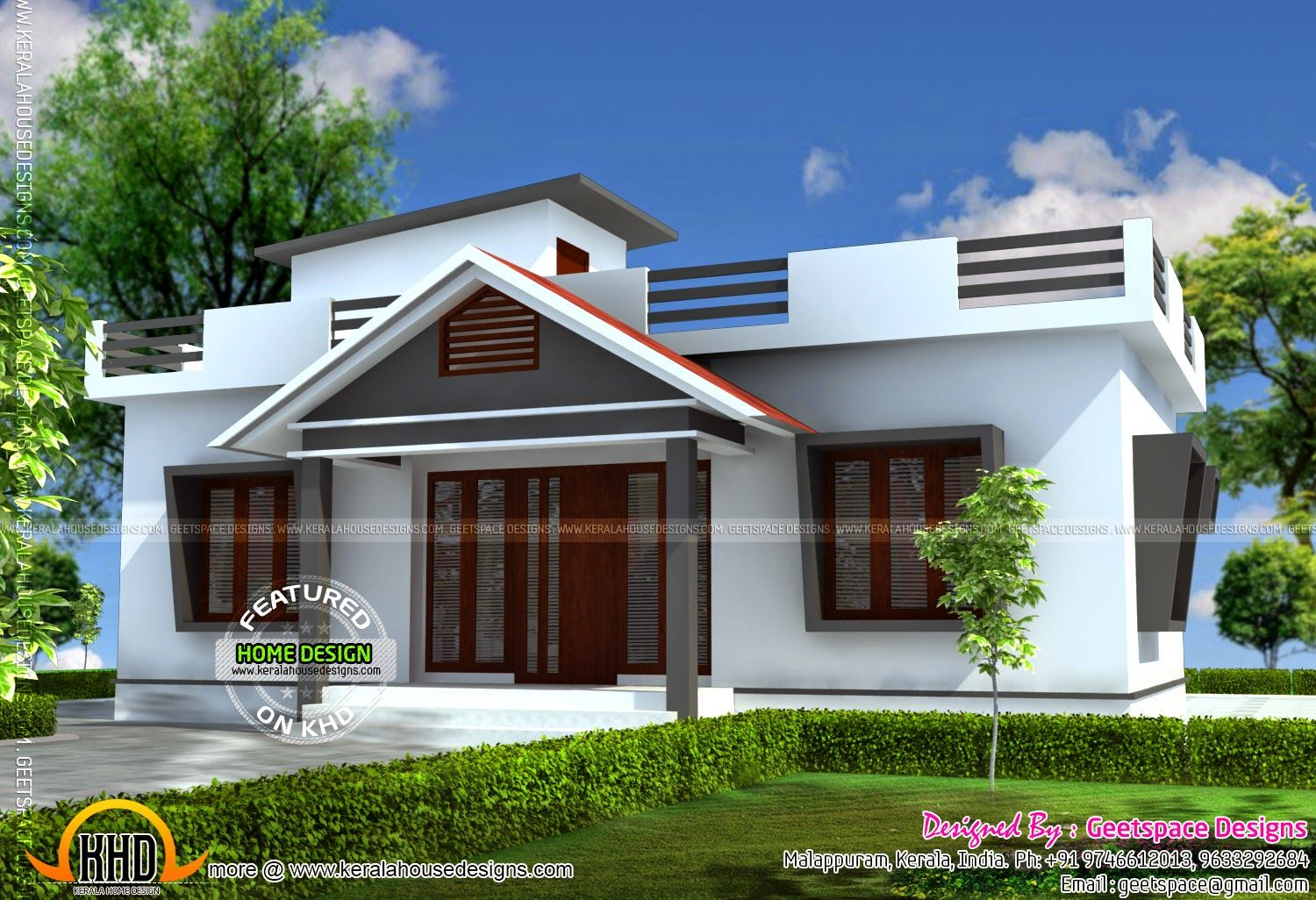 Small House Plans Concentrate On An Effective Use Of Area That Makes The Home Feel Bigger Strong Ou Kerala House Design Home Design Images Simple House Design