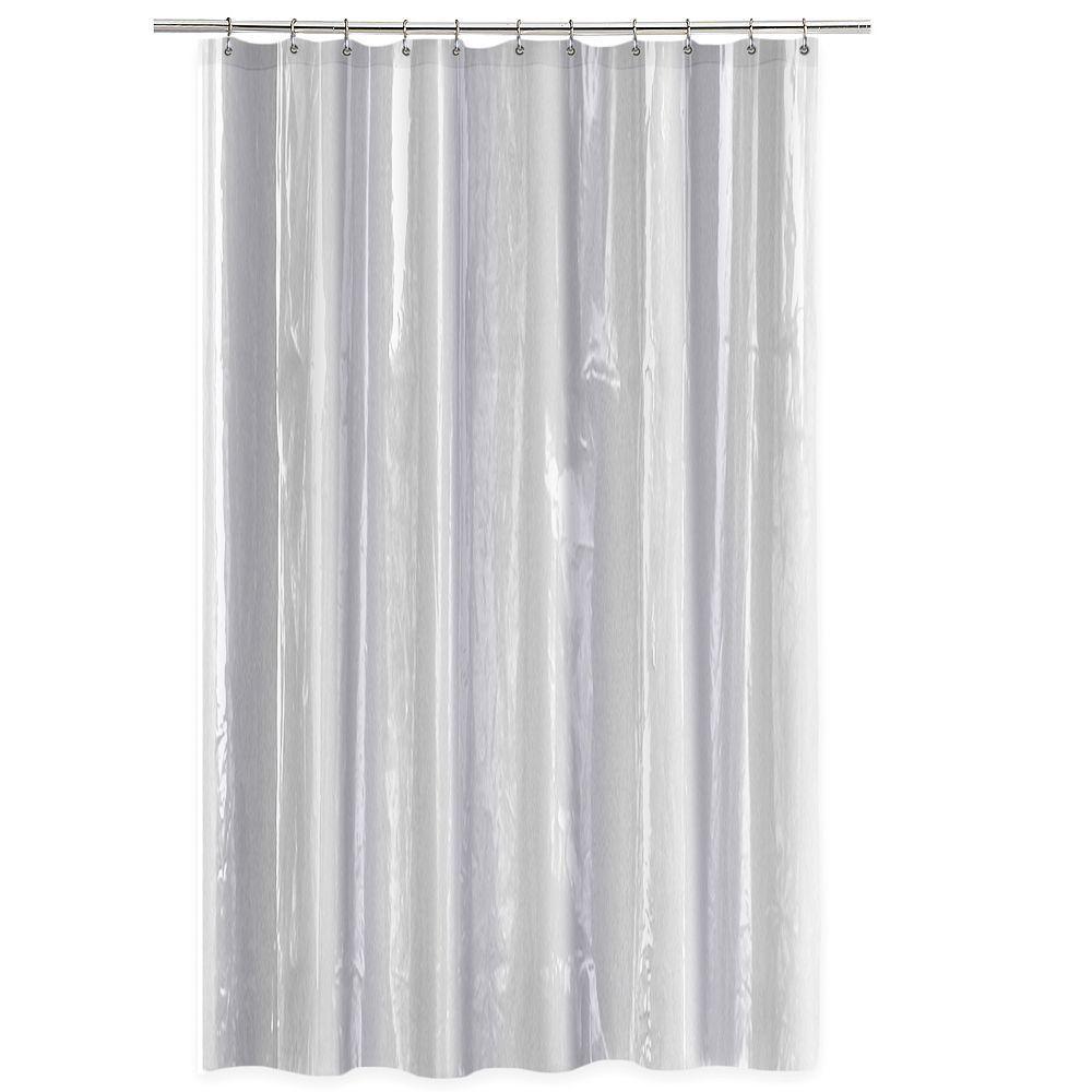 Splash Home Anti Mildew Shower Curtain Liner
