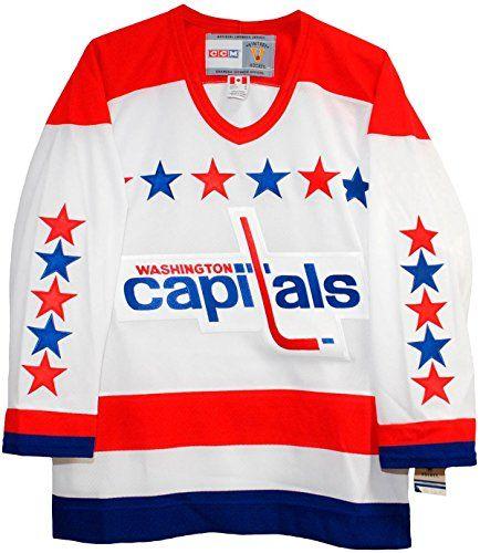 watch b33aa 75d7e Washington Capitals Throwback Jerseys | Cool Washington ...