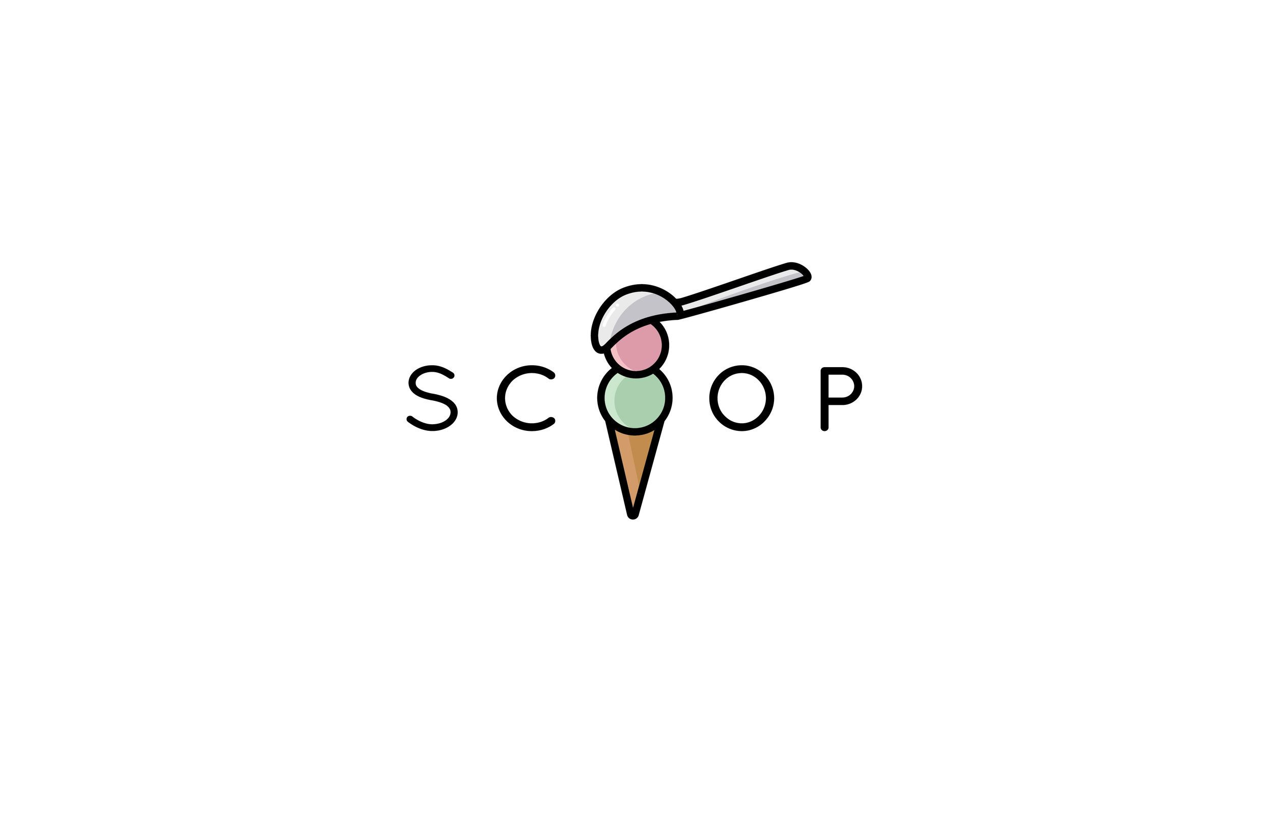 Ice Cream Shop Logo With Ice Cream Vector Illustration Design By Shelby Smeltzer Www Shelbysmeltzer Com Icecream Ice Cream Shop Ice Cream Logo Shop Logo