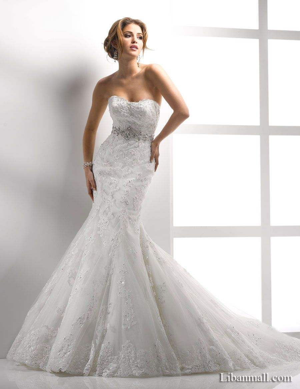 Nice Morilee by Madeline Gardner Fall Wedding Dresses Strapless sweetheart neckline Chapel train and Wedding dress