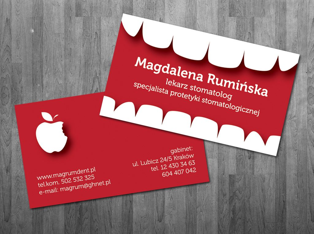 Resultado de imagen para dental business card | Oral Care ...