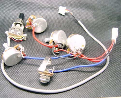 231fd1bc61b5e40261e15ed58882cbee new gibson epiphone les paul wiring harness pots switches lkjb23 les paul wiring harness ebay at creativeand.co