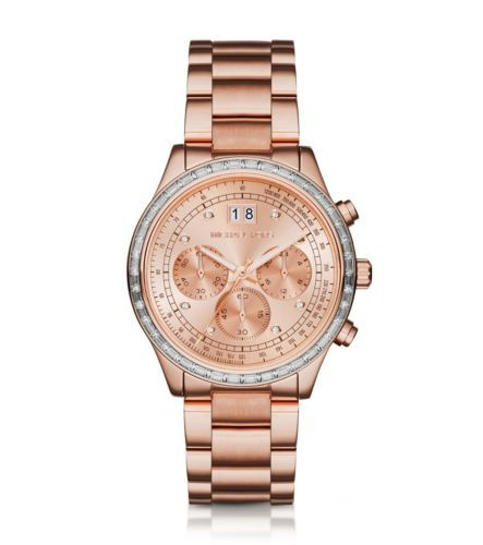 Brinkley Pavé Rose Gold-Tone Watch in 2018  5019d24433a
