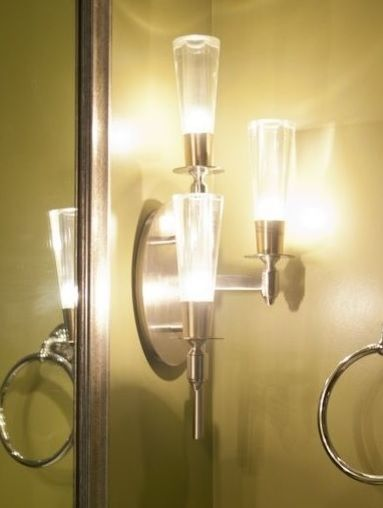 Interesting Wall Sconces | Wall sconces, Bathroom mirrors and Walls