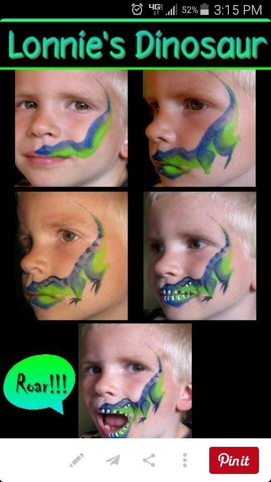 Dino Gesichter #dinosaurart