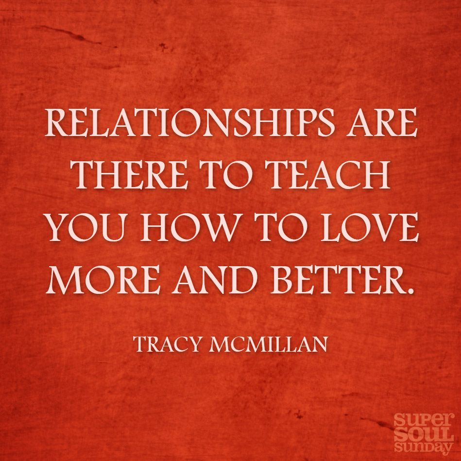 Relationship writer Tracy McMillan, author of Why You're Not Married...Yet, on what we gain by loving others.