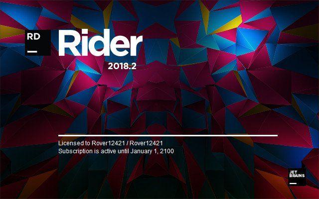 JetBrains Rider 2018.3.1 (x64) File size 530 MB