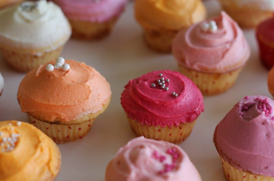 nectar and stone mini cupcakes via the Northern Light Blog