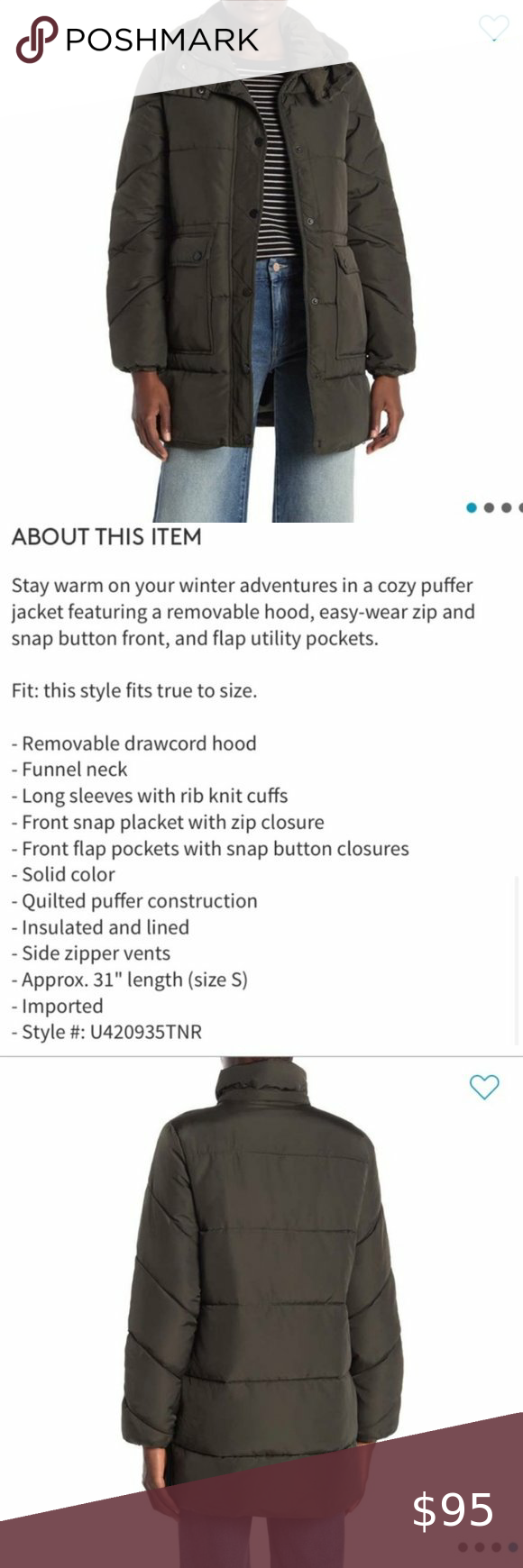 New Lucky Olive Green Puffer Jacket New With Tags Lucky Brand Puffer Jacket Size Medium Fits True To Size 100 Auth Green Puffer Jacket Jackets Puffer Jackets [ 1740 x 580 Pixel ]