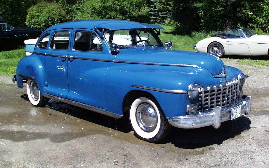 1948 Dodge Classic cars, Vintage cars, Retro cars