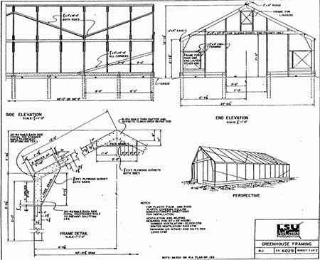 Large Wood Frame Greenhouse #greenhouseplans | Duh!! Solar ...