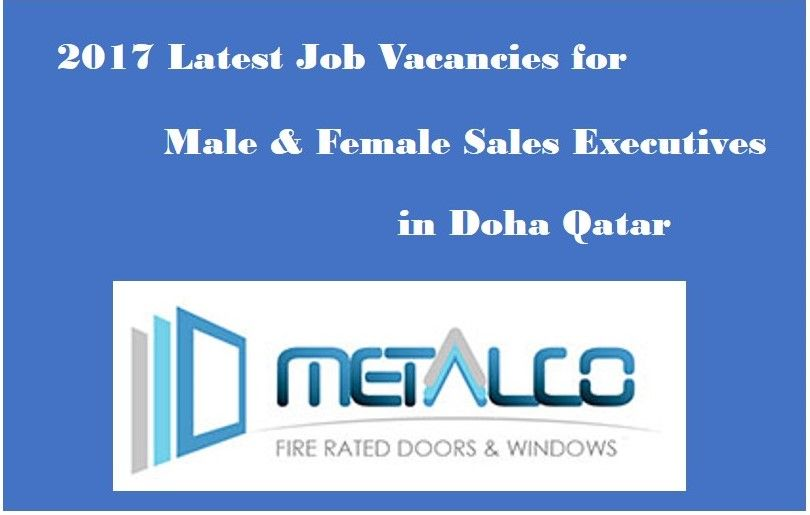 Latest Qatar Jobs For Male And Female Sales Executive In Qatar