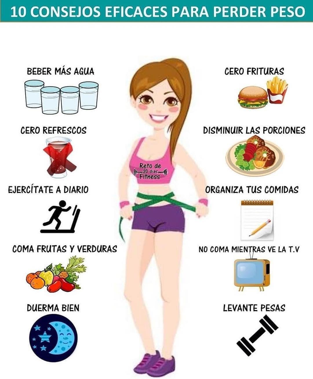 dieta y ejercicios para bajar de peso
