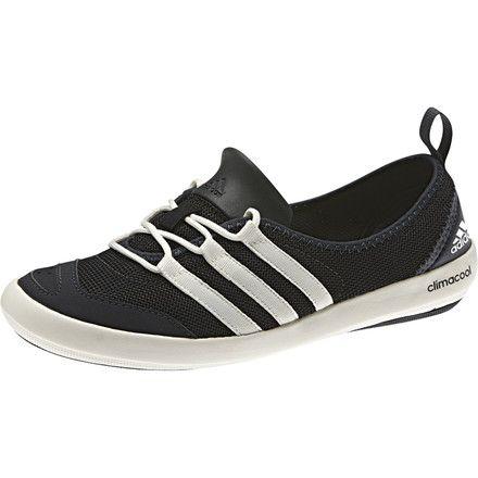 f0baf9120fab Adidas Outdoor Climacool Boat Sleek Water Shoe - Women s Black Chalk White Dark  Grey