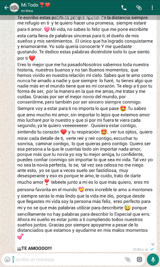 Relacion A Distancia Mensajes De Texto Bonitos Mensajes De Texto De Amor Mensaje De Amor Para Novio