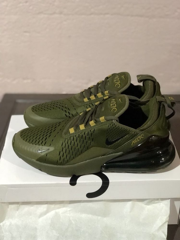 Rebotar antes de manga  Men's Nike Air Max 270 Olive Green Size 9.5 | Nice shoes, Mens nike air, Nike  air