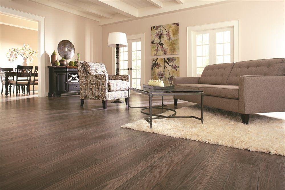 Shop Allen Roth 12mm Provence Oak Embossed Laminate Flooring At