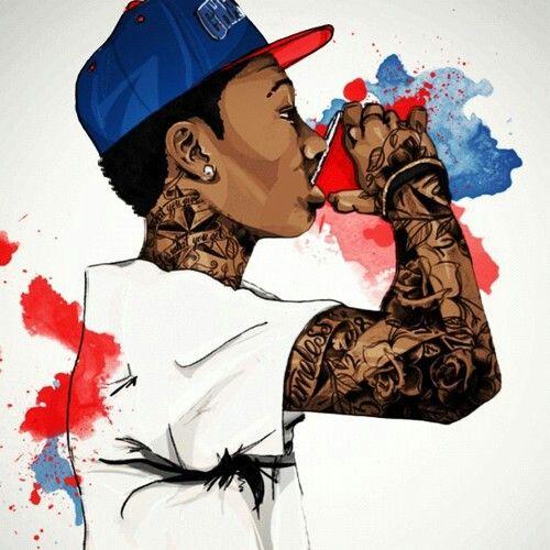 Wiz Khalifa Wallpaper Rapper Art Cartoon Art Swag Art