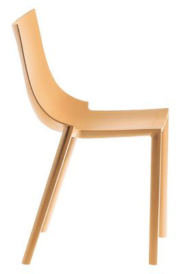 Chaise Empilable Bo Driade Orange Made In Design Chaise Empilable Chaise Plastique
