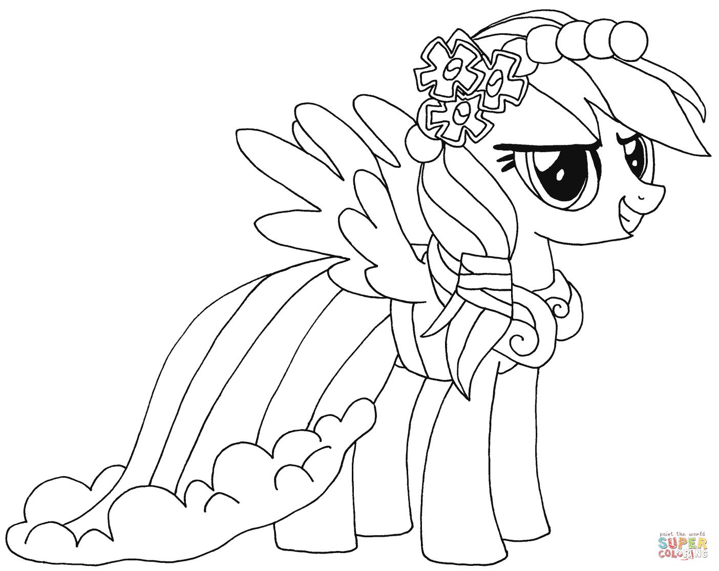 Kolorowanki My Little Pony Przyjazn To Magia Darmowe Kolorowanki My Little Pony Coloring Cartoon Coloring Pages Super Coloring Pages
