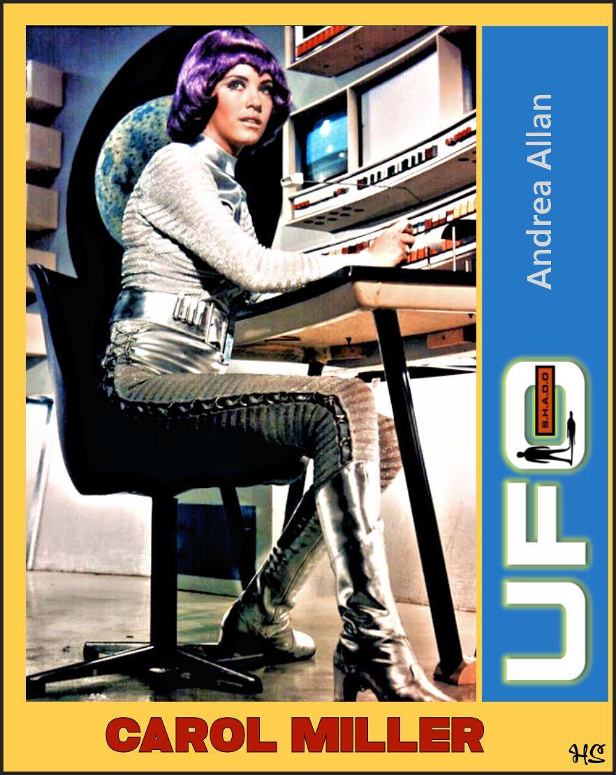 "Andrea Allan andrea allan ""ufo"" | the word of gerry anderson | ufo, sci"