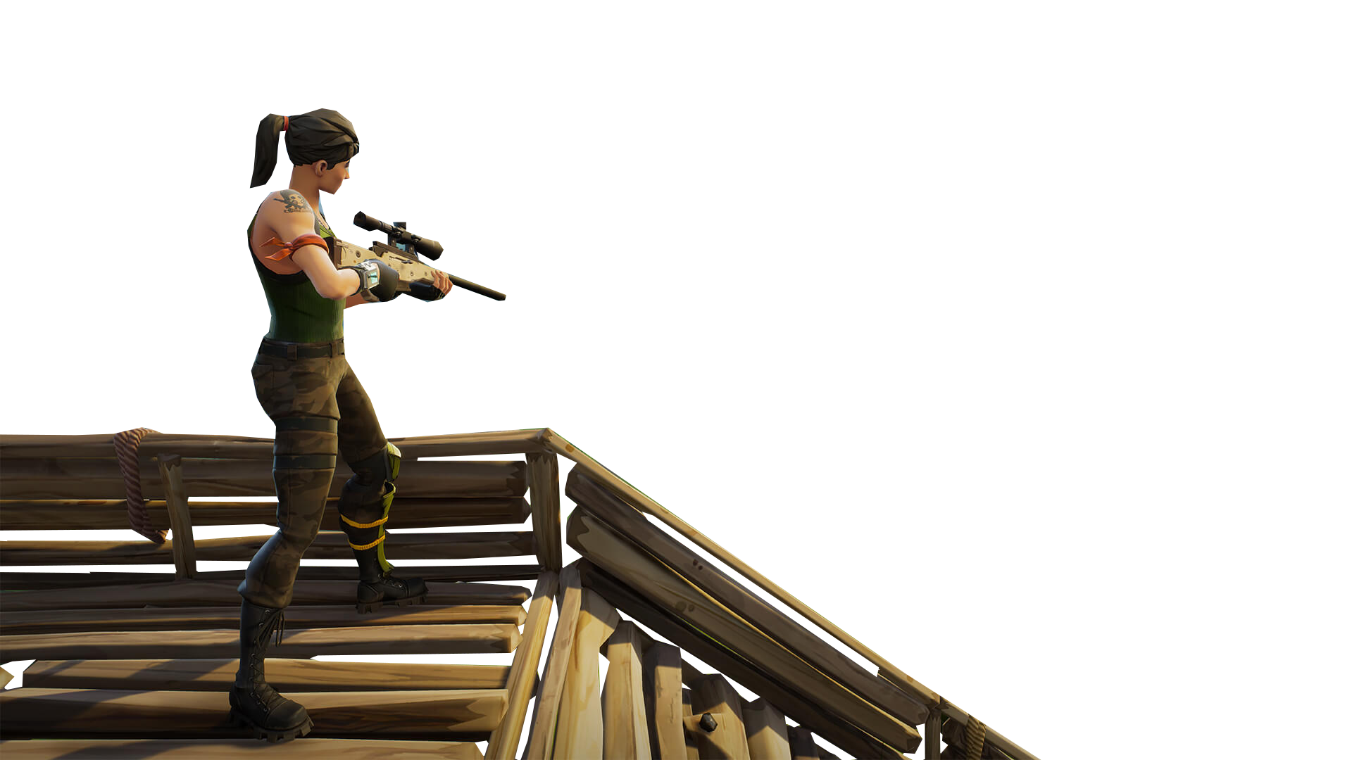 Sniper On Stairs Fortnite Thumbnail Template Png Image Fortnite Thumbnail Fortnite Background Images Wallpapers