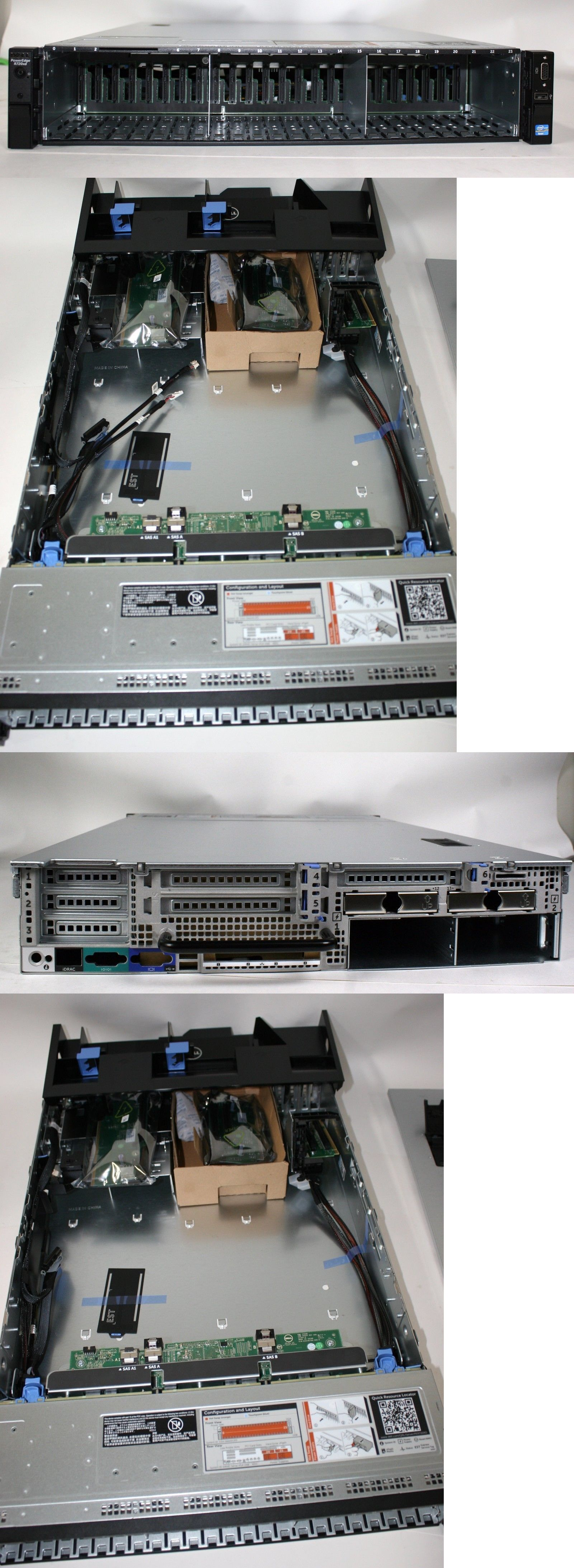 Server Fans and Cooling Systems 168074: New Dell R720xd 2 5