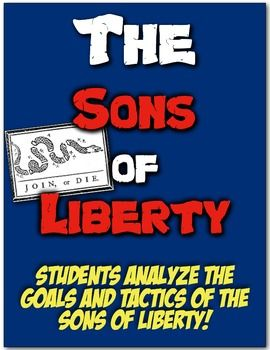 Photo of Sons of Liberty: Students Understand Role in Revolution with Image Analysis!