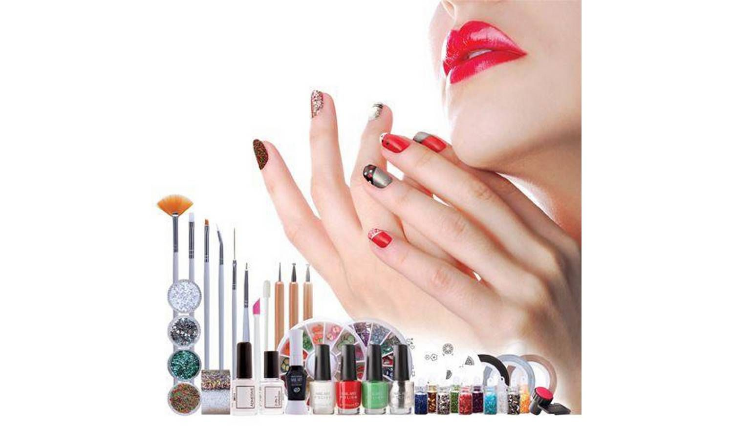 Buy Rio Ultimate Nail Art Professional Artist Collection Nail Sets Argos Nail Art Pen Nail Art Studio Black Nail Art