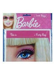 Barbie Loot Bags Pack of 8