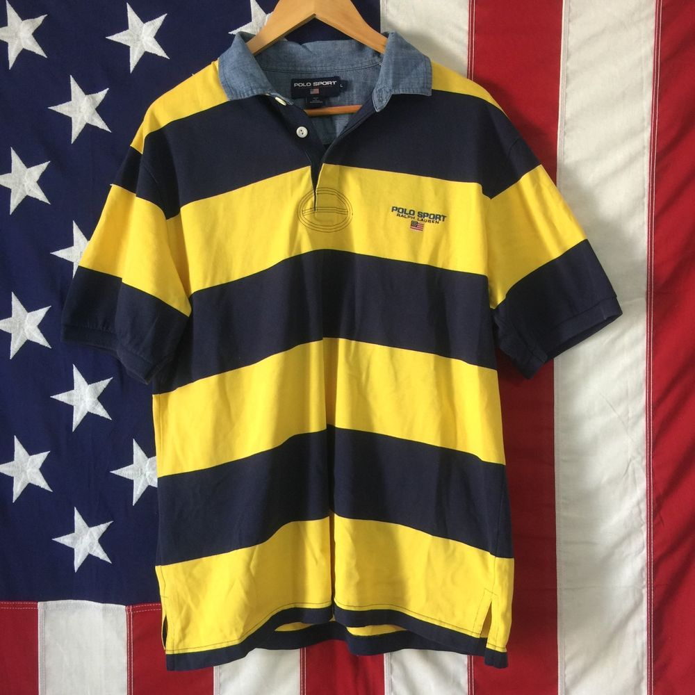 Shirts Sport Mens Ralph Ebay Lauren Polo n8mN0w