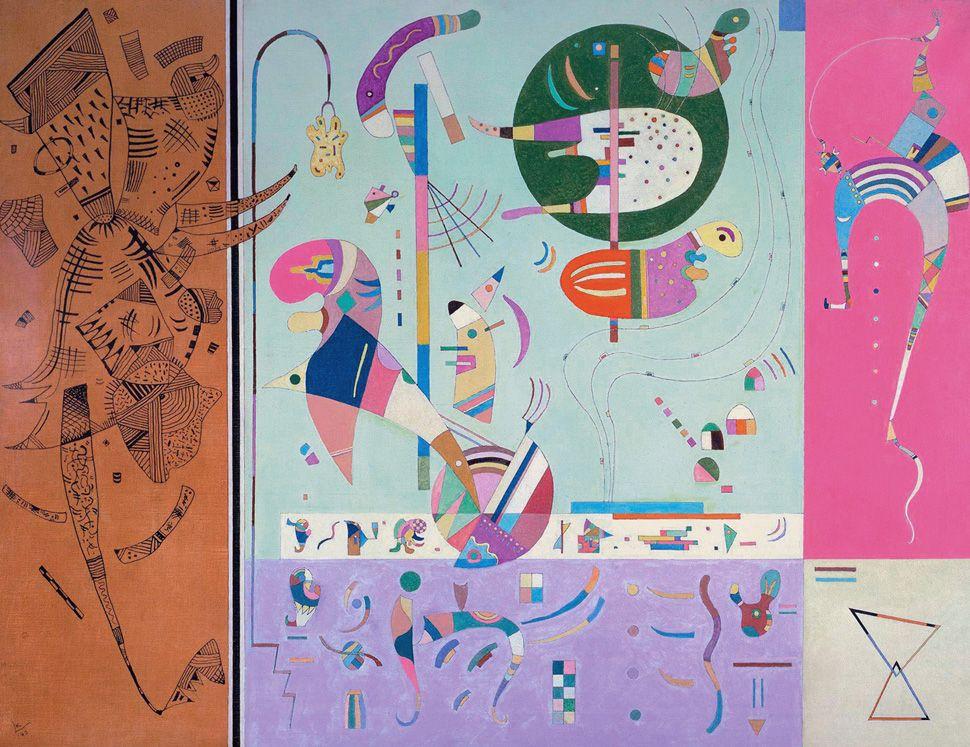 VARIOUS PARTS, 1940 Oil on canvas Philadelphia. USA. Philadelphia Museum of Art #kandinsky #kandinski #kandinskij #abstraction #abstractart http://www.wassilykandinsky.net/work-284.php