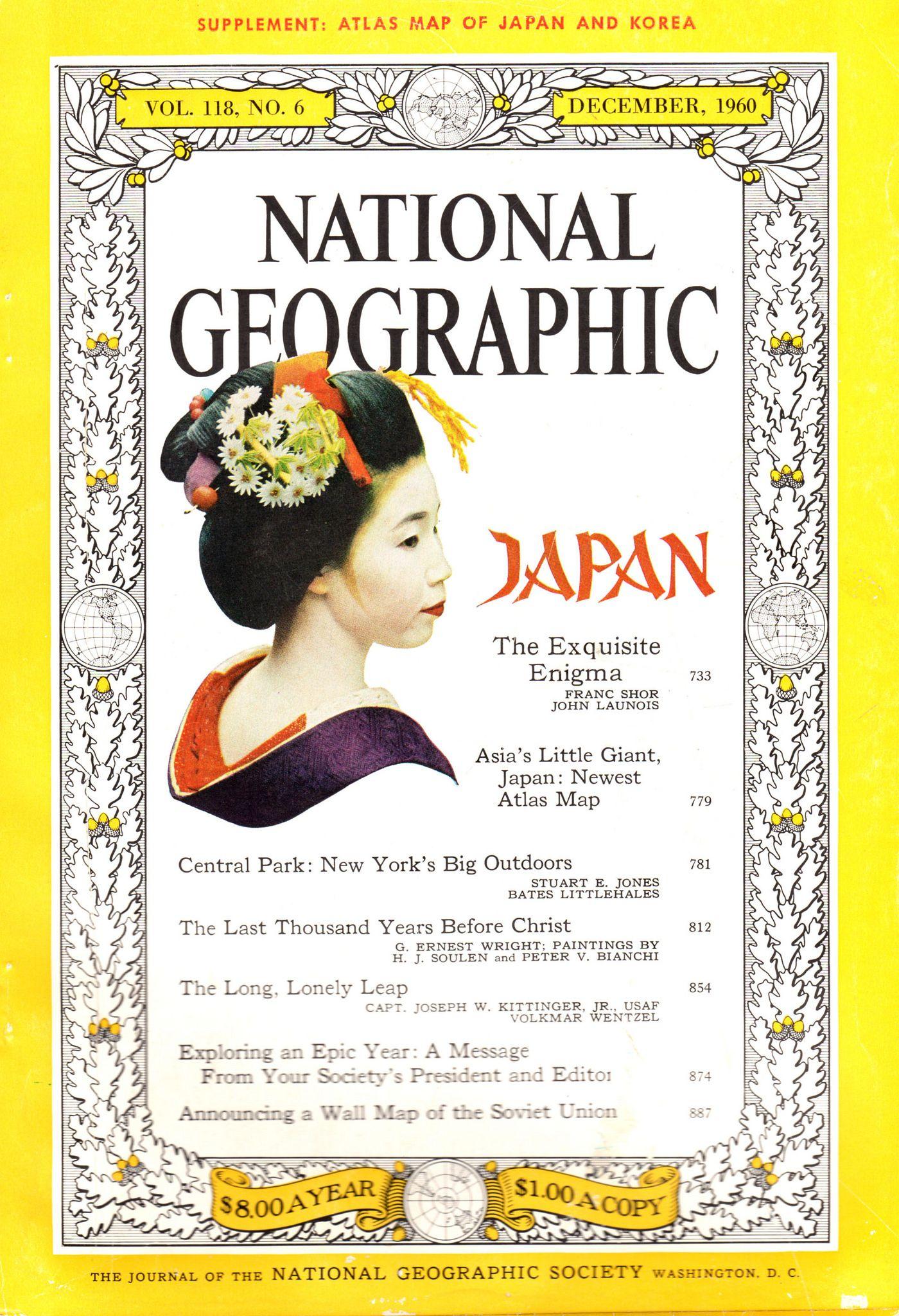 https://flic.kr/p/q7vTfP | National Geographic Dec 1960 front cover | December 1960 National Geographic