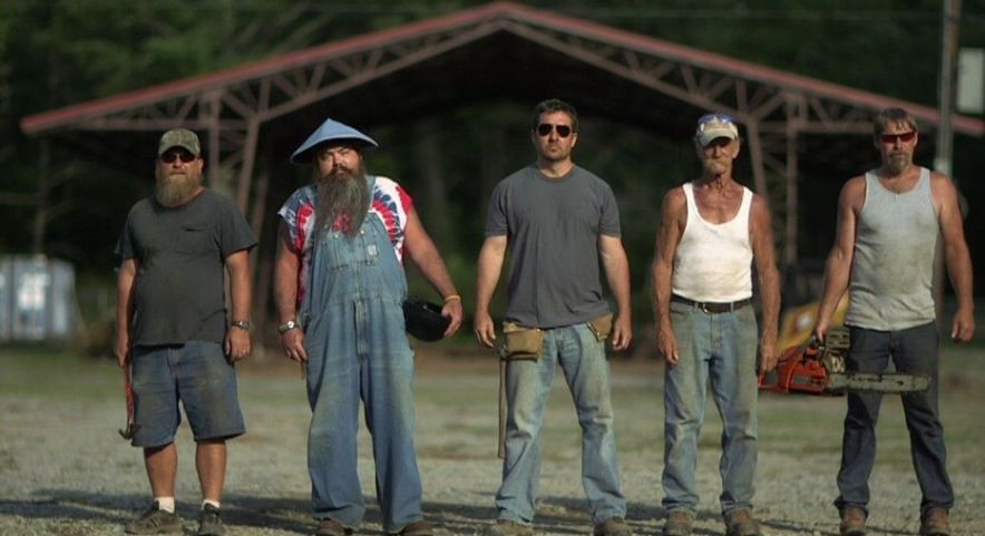 Barnwood Builders Meet From Left To Right Tim Brian Mark Johnny And Sherman They Re Self Proclaimed Hillbillies West Virginia