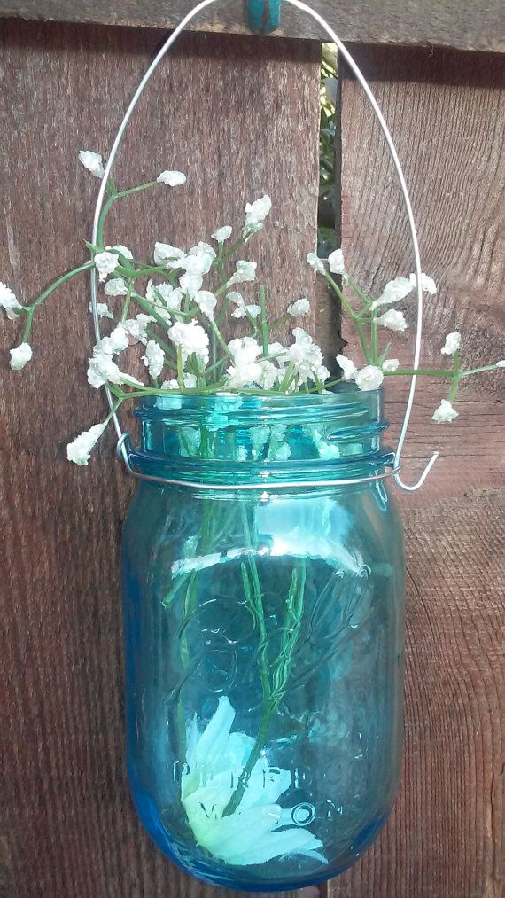Choose your quantity Silver Mason Jar hangers. Hanging mason jar ...