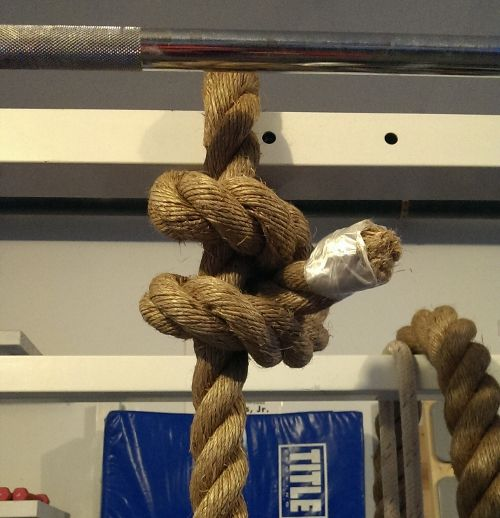 manila rope knot