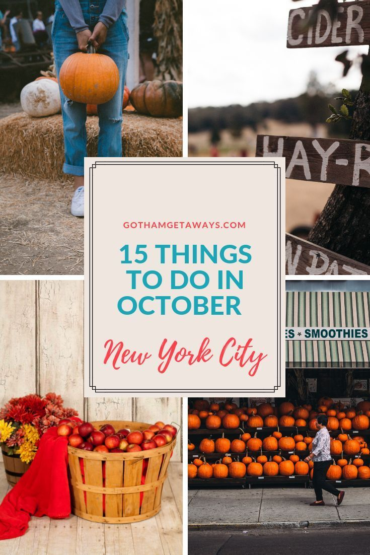 New York City in October is exciting. There are tons of Halloween and Fall themed events and activities, food and arts and culture festivals and parties. Read more to get the inside scoop on the best things to do in New York City during the month of October. #october #newyorkcity #halloween #fall #fallfestival #halloweenparade #oktoberfest #autumninnewyork