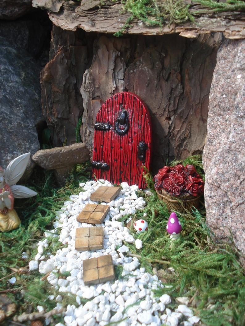 Fairy door outdoor, fairy garden kit, fairy doors and windows, fairy