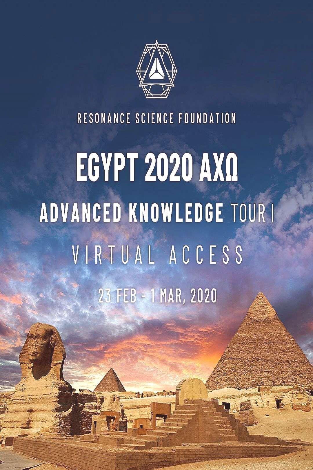 I'm on my way to this epic Resonance Science Foundation Expeditio