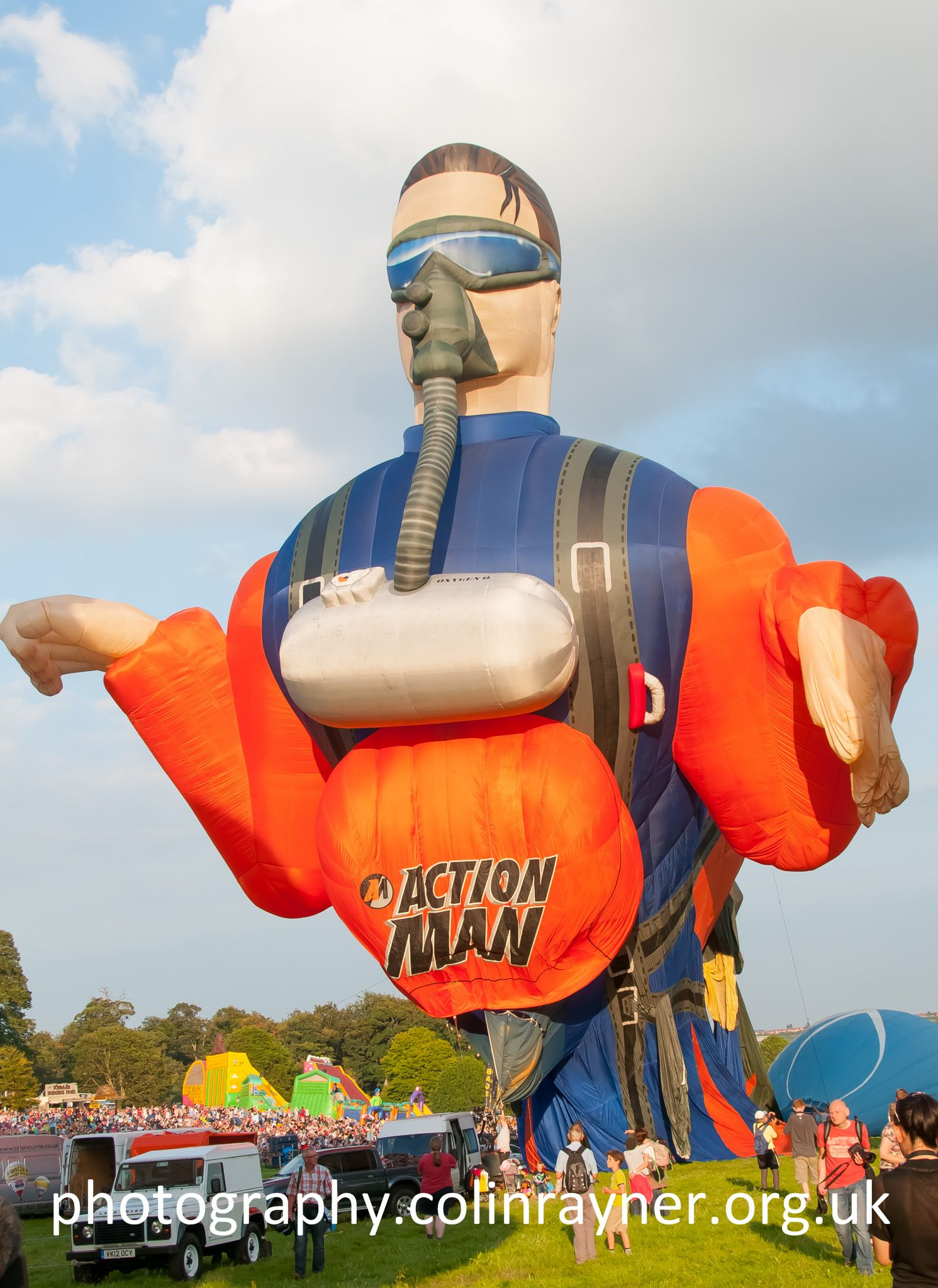 Action Man Hot Air Balloon at Bristol Balloon Fiesta