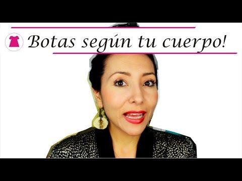 Cómo usar Botas según el cuerpo * Cló - YouTube