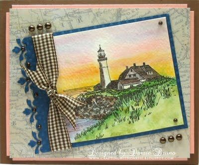 Light House Water Color